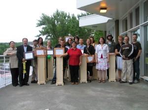 Remise de diplômes 2007-2008
