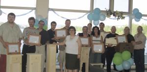 Remise de diplômes_2006-2007